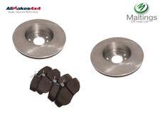 range rover p38 front brake discs and pad set ntc8780 sfp500150 2.5d 4.0 4.6 v8