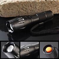 10000Lumens XM-L T6 LED Flashlight Zoomable Waterproof 18650 Torch Lamp Light MT