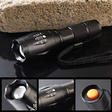 10000Lumens CREE XM-L T6 LED Flashlight Zoomable Waterproof 18650 Torch Lamp MT