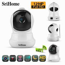 Srihome SH020 1296P FHD Wireless Smart IP Camera Home Security WIFI Indoor Cam