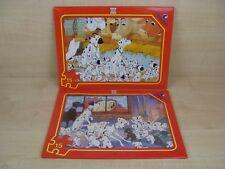 2 x Clementoni Walt Disney's 101 Dalmatians 15 Large Piece Jigsaw Puzzles sealed