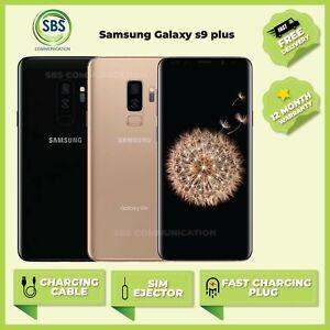 Samsung Galaxy S9+ Plus  Unlocked Smartphone 64GB/ 128GB/ 256GB Various Colours