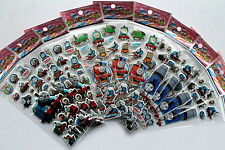 Thomas The Tank Engine Puffy Stickers 10 Sheets Party Favours