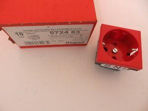 50  LEGRAND Mosaic Socket outlets 16A 250V German standard   5724 63 2P+E