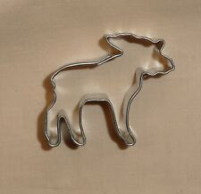 "Moose,Mini,Cookie Cutter,Woods Animal Metal,1.5"",Metal,OTHP,Biscuit.Tiny,"
