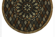 Mohawk Home Stone Slice Recycled Rubber Doormat