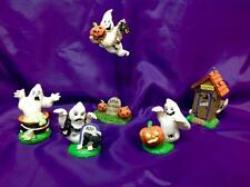 MIdwest Canon Falls Hallowen Figurines Set of 5  (Ghost and Goblins)