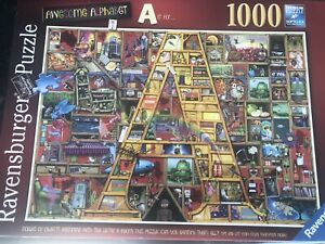 RAVENSBURGER 1000 Piece Puzzle Awesome Alphabet