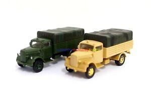 1PC 1/72 German Kfz.305 Opel Blitz Truck Plastic Kit (Colour Choose) WWII Model