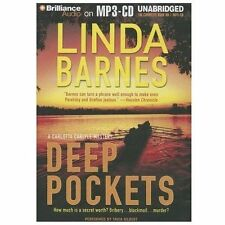 Carlotta Carlyle: Deep Pockets 10 by Linda Barnes (2013, MP3 CD, Unabridged)