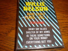 Willie Nelson CASSETTE NEW Rare Early Years Volume 1
