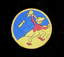 350TH BOMB SQUADRON 100TH BOMB GROUP H HAT PATCH US 8TH AIR FORCE PIN UP AFB