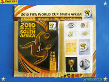 Panini★WM 2010 WC 10 World Cup★Komplett-Set Album+Stickers - MEGA-RARITÄT !!!