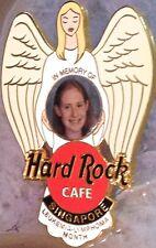 Hard Rock Cafe SINGAPORE 2000 Beth Graham MEMORIAL Angel PIN - HRC Catalog #8790