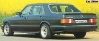 Mercedes W126 S Class SE GENUINE ZENDER SIDE SKIRTS (early and late)
