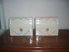 Ceramic Small Treasure Chest/Pet Urn cremation/memorial
