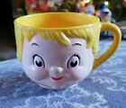 Vintage Campbell's Soup Dolly Dingle Character Face Cup 1970's
