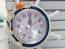 Wall clock with sea style kids waiting o sleeping room etc __ fast free shipping