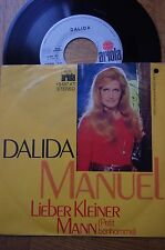 45 TOURS ALLEMAND  DALIDA.