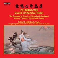 Ming-Xin / Nishizaki / Hong Kong Philharmonic Orch - Violin Concerto [New CD]