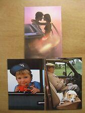 VW Postkarten 3 Karten Volkswagen Passat 32B Golf 1Jetta Bulli Bus LT 28 GLS GL