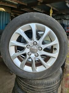 AUDI 16 INCH ALLOY WHEEL WITH TYRE