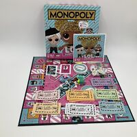 Monopoly LOL Surprise Board Game 2-4 Players Hasbro 8+ *COMPLETE*