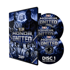 Official ROH Ring of Honor - Honor Re-United UK Tour 2018 - 3 Event DVD Set