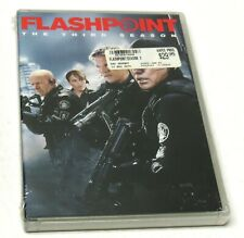 FLASHPOINT THE THIRD SEASON 2010 4 Disc DVD SET BRAND NEW SEALED 3 FAST SHIPPING
