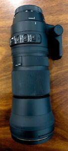 Sigma 150-600mm F5-6.3 C Contemporary DG OS HSM Lens: Canon Mount