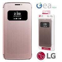Custodia Quick Cover Originale LG Per G5 H850 Case Finestra Rosa Pink CFV-160