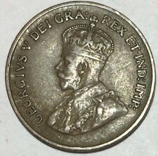 1932 1 Cent Bronz Canada