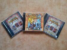 Monkey Island 1 + 2 + 3 + 4 PC DOS/Win 95 alemán USK 12 #