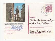 Korbach Roland Rathaus Kilianskirche Bildpostkarte Ganzsache Bedarfserhaltung