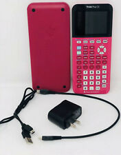 Texas Instruments TI-84 Plus CE Graphing Calculator Pink 84PLCE Read Desc