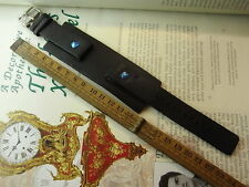 GENUINE NOS FOSSIL JR-1099 ARMY STYLE 20MM BLACK LEATHER WATCH STRAP