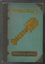 Minecraft Construction Handbook by Mojang, Large Paperback, Copyright 2014