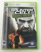 Tom Clancy's Splinter Cell: Double Agent (Microsoft Xbox 360, 2006) Complete