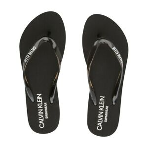 Calvin Klein Jeans Sandal Infradito Donna KW0KW01374 BEH PVH Black