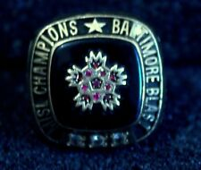 Authentic Baltimore Blast 2006 MISL Championship Ring 32 grams 10K gold  #masl