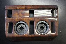 Mercedes Benz W124 S124 C124 Abdeckung Heizungsbedienung Holz Wurzel Schalter 9