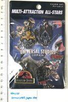 Charm set jurassic park Terminator Jaws Transformers Universal Studios Japan