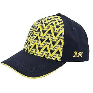Arsenal FC Bruised Banana Navy And Yellow Official Adjustable Cap