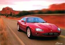 Advertising Postcard 1999? Jaguar XKR - Geneva Motor Show 1998