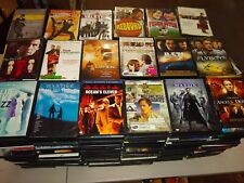 Lot (100) Used Assorted Dvd Movies - 100 Bulk Dvds - Used Dvds Wholesale Lot