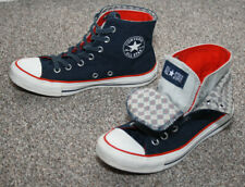 Converse navy blue two fold canvas high-top trainers UK 5 EUR 38