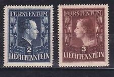 Briefmarken aus Liechtenstein mit Königshäuser-Motiv