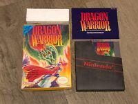 Dragon Warrior 1 Nintendo Nes Complete CIB Excellent Condition Authentic