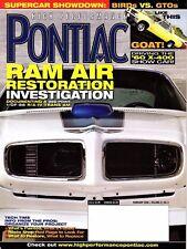 Vintage Original High Performance Pontiac Magazine - February 2006 Vol 27/No 2