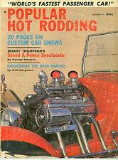 POPULAR HOT RODDING MAGAZINE. NUMBER 1 ISSUE..MICKEY THOMPSON, 1949 FORD DRAGON